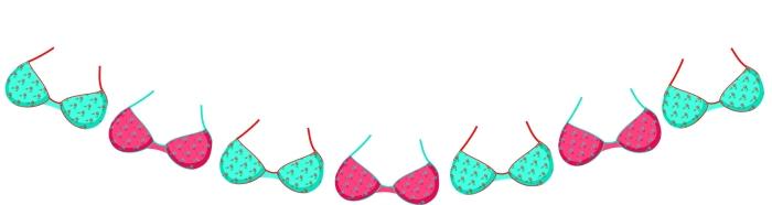 Bikini bunting