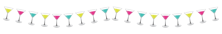 cocktail bunting